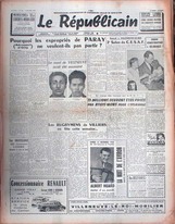 Couverture LE REPUBLICAIN