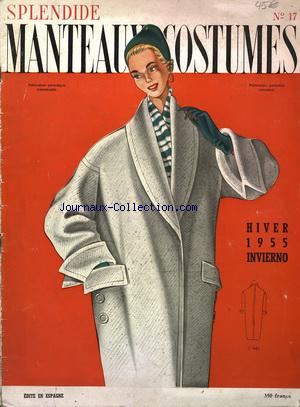 SPLENDIDE MANTEAUX COSTUMES no:17 01/12/1955