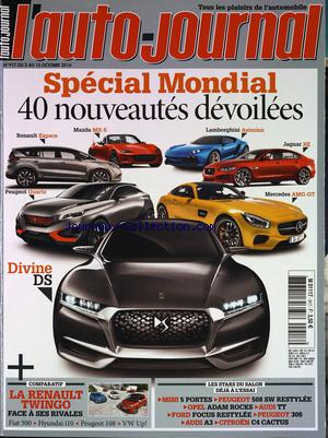 AUTO JOURNAL (L') no:917 15/10/2014