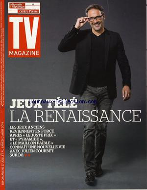 TV MAGAZINE LA NOUVELLE REPUBLIQUEE no:21224 27/07/2014