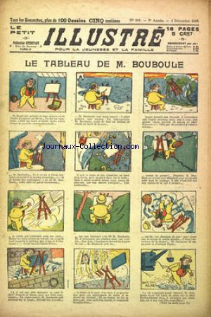 PETIT ILLUSTRE (LE) no:341 04/12/1910