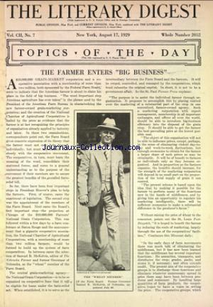 LITERARY DIGEST (THE) no:2052 17/08/1929