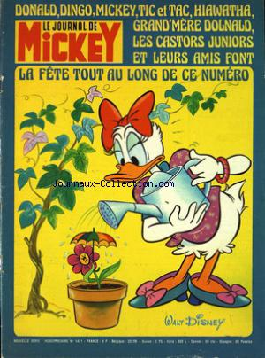 JOURNAL DE MICKEY (LE) no:1421