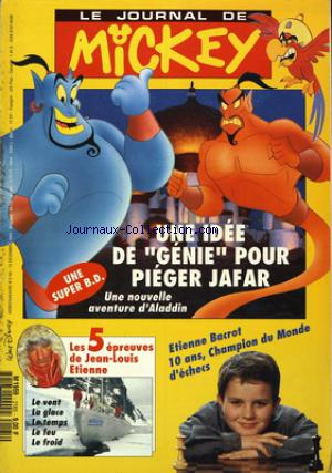 JOURNAL DE MICKEY (LE) no:2165 15/12/1993