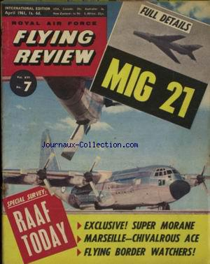 FLYING REVIEW no:7 01/04/1961