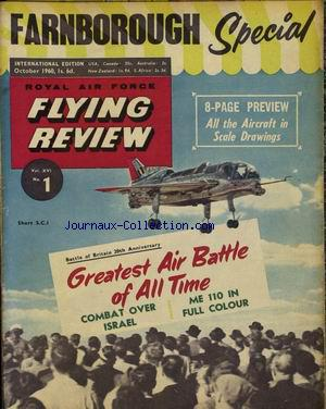 FLYING REVIEW no:1 01/10/1960