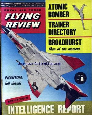 FLYING REVIEW no:8 01/05/1961
