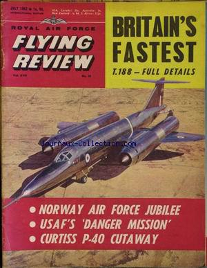 FLYING REVIEW no:10 01/07/1962