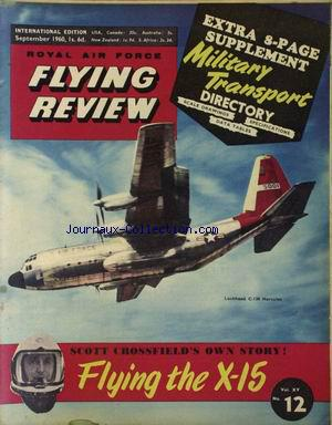 FLYING REVIEW no:12 01/09/1960