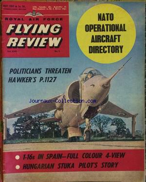 FLYING REVIEW no:8 01/05/1962