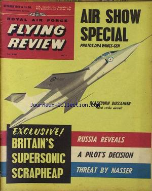 FLYING REVIEW no:1 01/10/1961