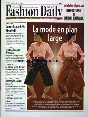 FASHION DAILY NEWS no:395 02/02/2006