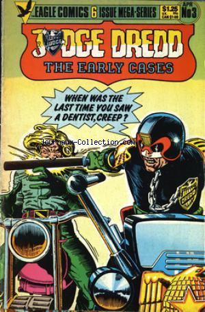 JUDGE DREDD THE EARLY CASES no:3