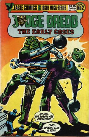 JUDGE DREDD THE EARLY CASES no:2