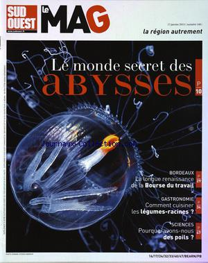 SUD OUEST LE MAG no:146 17/01/2015