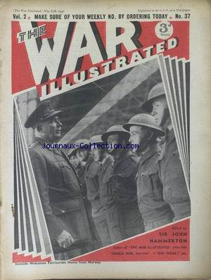WAR ILLUSTRATED (THE) no:37 17/05/1940
