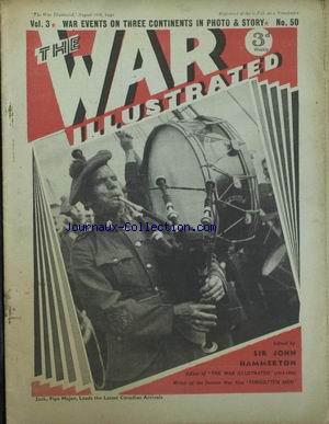 WAR ILLUSTRATED (THE) no:50 16/08/1940