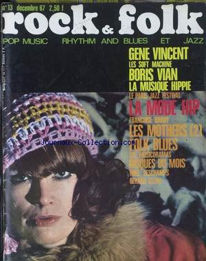 ROCK AND FOLK no:13 01/12/1967