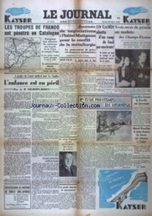 JOURNAL (LE) no:16597 29/03/1938