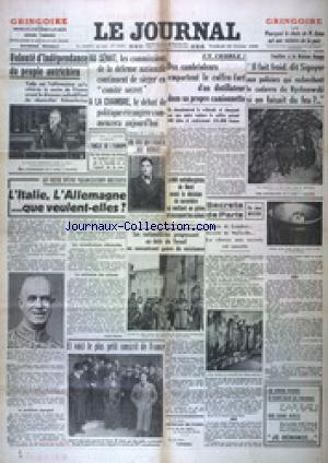 JOURNAL (LE) no:16565 25/02/1938