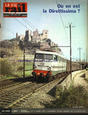 VIE DU RAIL (LA) no:1401 15/07/1973