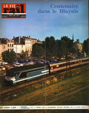 VIE DU RAIL (LA) no:1404 12/08/1973