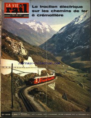 VIE DU RAIL (LA) no:1419 02/12/1973