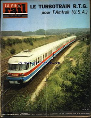 VIE DU RAIL (LA) no:1403 29/07/1973