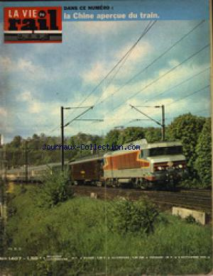 VIE DU RAIL (LA) no:1407 09/09/1973