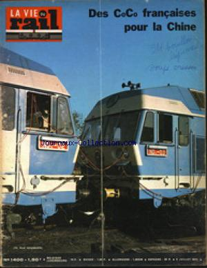 VIE DU RAIL (LA) no:1400 08/07/1973