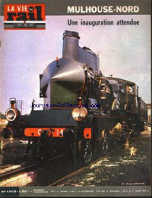 VIE DU RAIL (LA) no:1303 01/08/1971