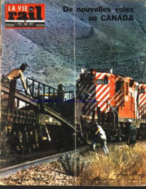 VIE DU RAIL (LA) no:1428 03/02/1974
