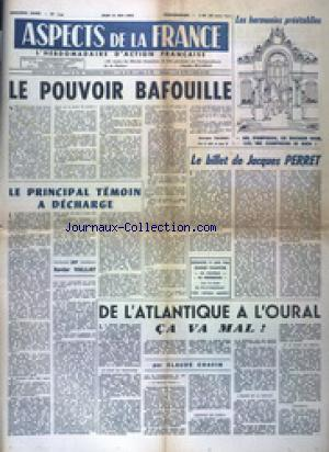 ASPECTS DE LA France no:716 31/05/1962