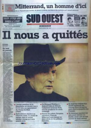 SUD OUEST no: 09/01/1996