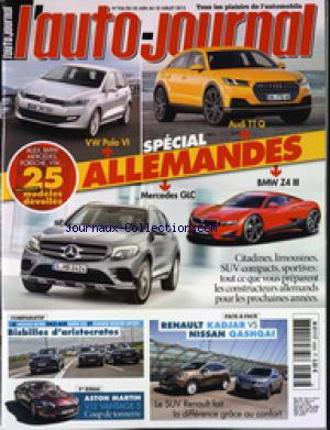 AUTO JOURNAL (L') no:936 25/06/2015