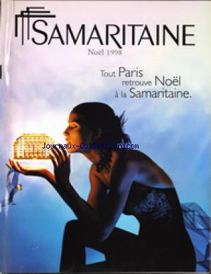 CATALOGUE DE LA SAMARITAINE no: 01/12/1998