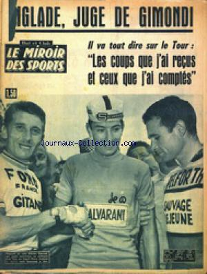 MIROIR DES SPORTS (LE) no:1087 15/07/1965