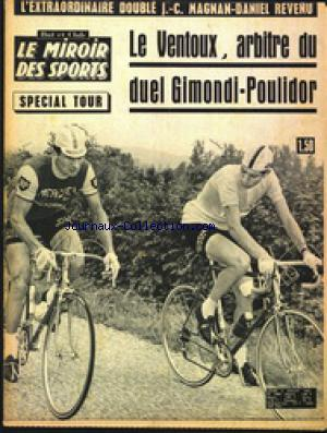 Miroir des sports le no 1084 05 07 1965 mus e de la presse for Miroir des sports