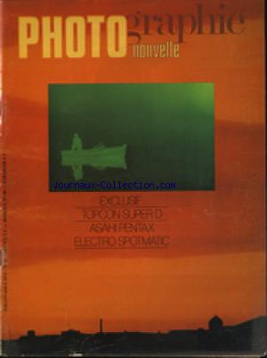 PHOTOGRAPHIE NOUVELLE no:62 01/07/1972