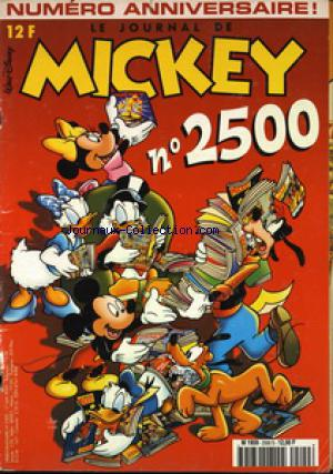 JOURNAL DE MICKEY (LE) no:2500 17/05/2000