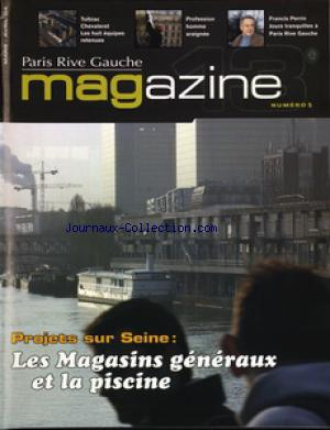 PARIS 13 EME RIVE GAUCHE MAGAZINE no:5 01/03/2004