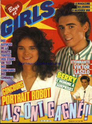BOYS ET GIRLS no:331 01/05/1986