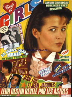 BOYS ET GIRLS no:264 17/01/1985