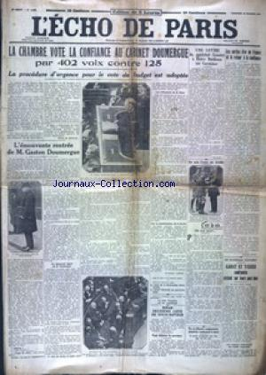 ECHO DE PARIS EDITION DE 5 HEURES (L') no:19845 16/02/1934