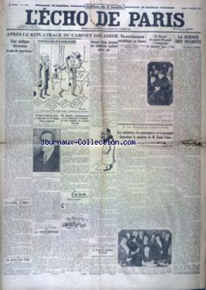 ECHO DE PARIS EDITION DE 5 HEURES (L') no:19834 05/02/1934