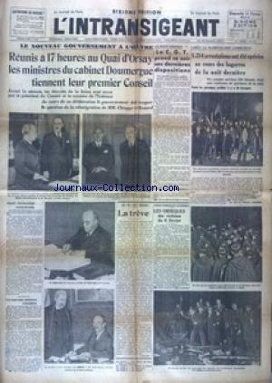 INTRANSIGEANT SIXIEME EDITION  (L') no: 11/02/1934