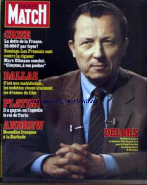 PARIS MATCH no:1766 01/04/1983