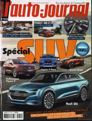 AUTO JOURNAL (L') no:942 01/10/2015