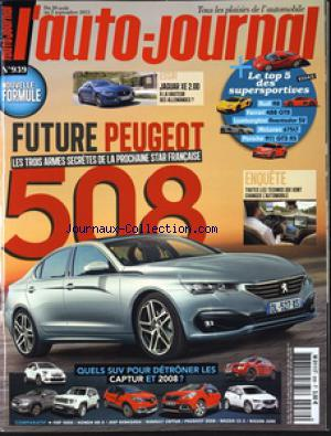 AUTO JOURNAL (L') no:939 20/08/2015
