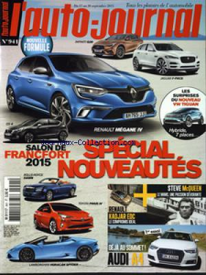 AUTO JOURNAL (L') no:941 17/09/2015